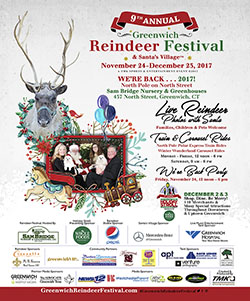 9th Annual Greenwich Holiday Stroll and Reindeer Fesitval - 2018