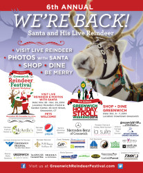 6th Annual Greenwich Holiday Stroll and Reindeer Fesitval - 2014