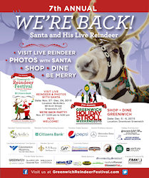 7th Annual Greenwich Holiday Stroll and Reindeer Fesitval - 2015