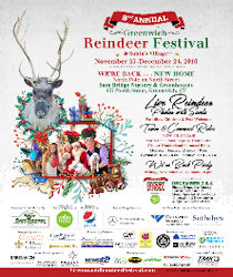 8th Annual Greenwich Holiday Stroll and Reindeer Fesitval - 2016